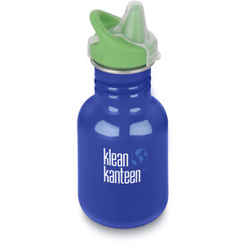 Klean Kanteen Kid Classic Bottle Sippy Cap 355ml Barn coastal waters